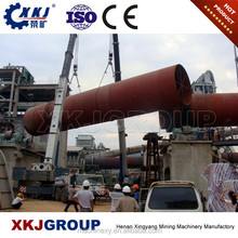 High Efficiency Lime Calcination Rotary Kiln With ISO and CE Inspection