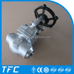 600LB API 602 manual operated forged alloy steel steam globe valve price