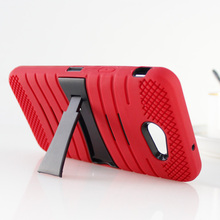 fashion Popular Silicone PC Lateral support mobile phone case for ipad mini back cover