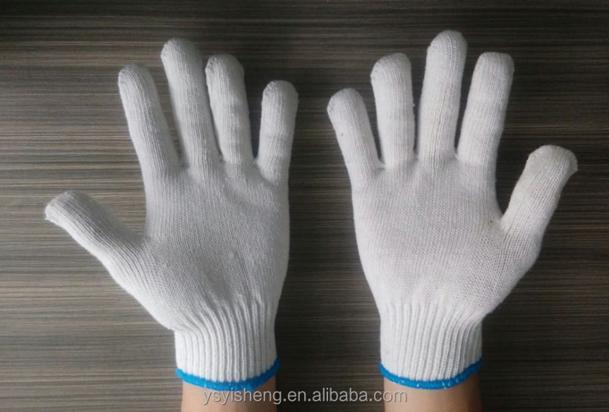 Cheap safety heat resistant working 100% cotton <strong>gloves</strong> for very high temperature