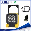 Portable construction lighting work led light rechargeable torchlight