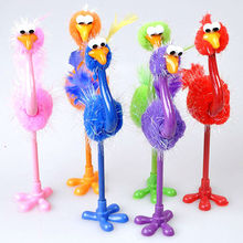 INTERWELL BPF727 Promotional Cute Feather Ostrich Pen Hot Christmas Pen