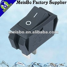kcd2 3A/5A AC rocker door switch with 125V t85