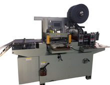 Adhesive Label, Foam Tape,Sticker Paper Film Automatic Flat Bed Die Cutting Machine With Roll Feeding