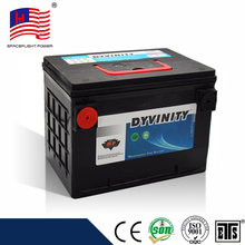 American style 78-60 lead Acid batteries diamond car battery