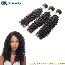 wholesale high quality unprocessed virgin mongolian curly hair extensions