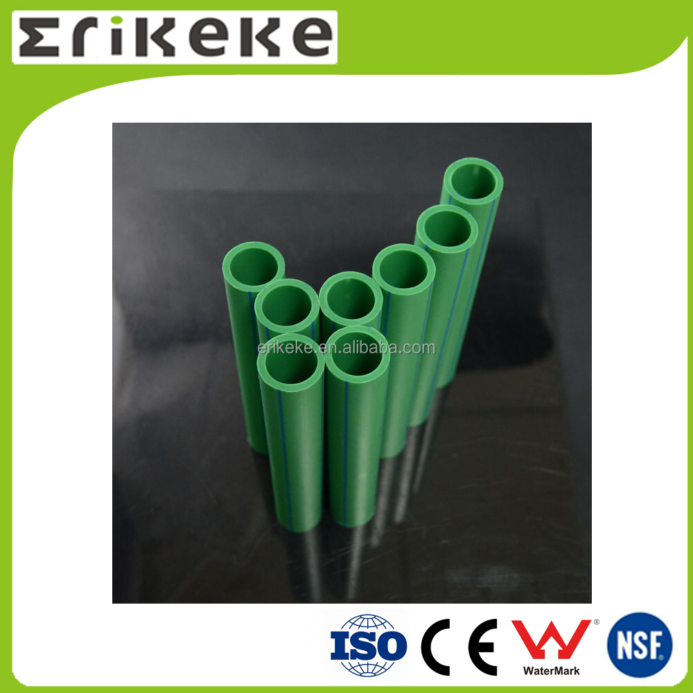 Polypropylene full size water supply ppr pipe manufacturers