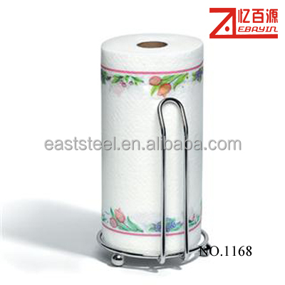 free standing kitchen paper towel holder