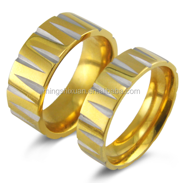 Celebrity Jewelry High Quality Couple Ring Jewelry Unique Gold Rings New Model 2013