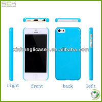 New Style Pure color PC case for iphone 5c