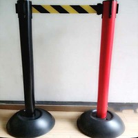 Plastic Retractable Belt Barrier Used Fence Post Driver