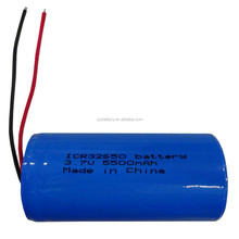 32650 3.7V 5500mAh high capacity rechargeable li-ion cylindrical battery for industrial products