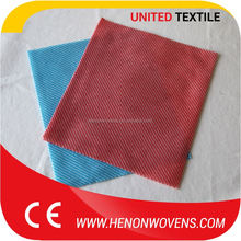 Foods Processing Industry Use Dyed Spun Lace Nonwoven