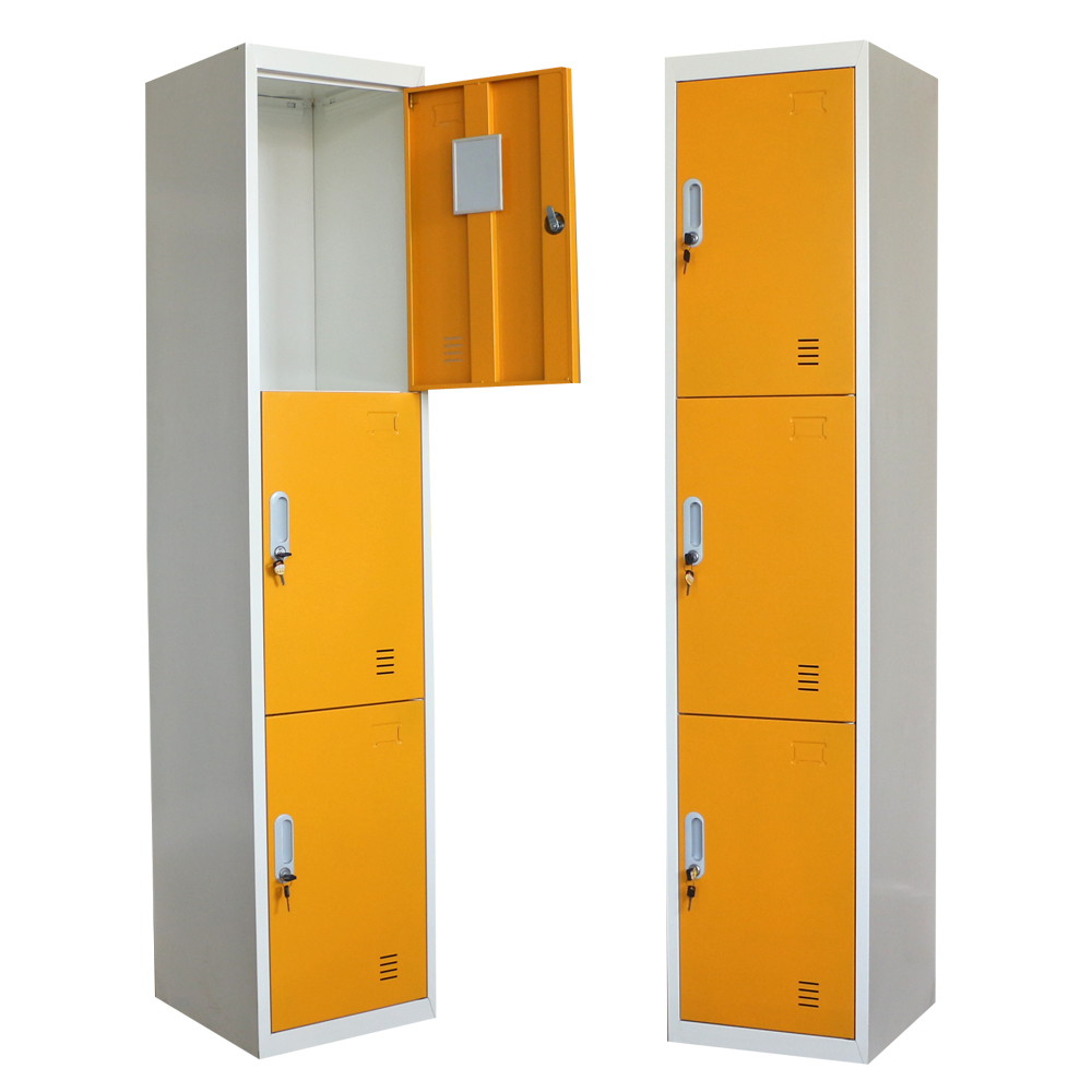 3 door bedroom small steel locker buy steel shoes locker
