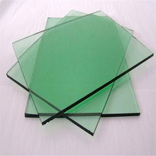 4mm clear green plate window glass prices for building