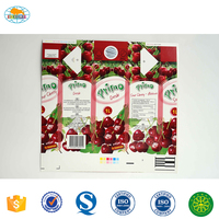 Customized Beverage Carton Packaging