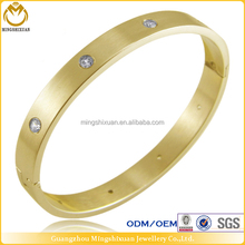Celebrity Jewelry Polish stainless steel wholesale dubai gold jewelry bracelet