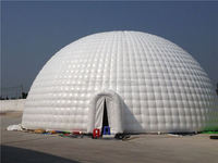 Giant igloo tent inflatable dome tent for outdoor activities