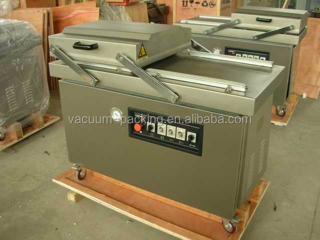 Fresh meat MAP double chamber vacuum packing machine