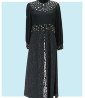 Front Neck Design For Abaya Factory Direct Wholesale Clothing Muslim Dress