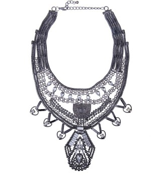 High quality new arrival large costume jewelry necklace, Heavy metal necklaces/Neckpieces