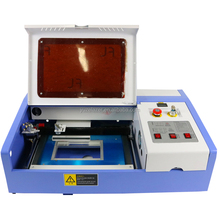 3020 40w co2 laser engraving machine laser engraver cutting machine make rubber stamp big power working area 30*20