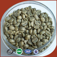 Raw Bulk Green Yunnan Arabica Coffee Beans Unroasted Organic Coffee