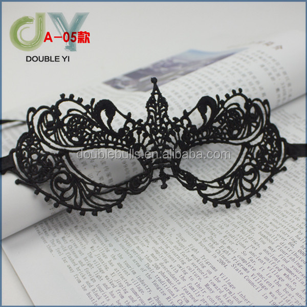 Wholesale Fancy Dress Halloween lace eye masquerade mask