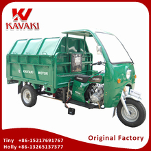 China Factory Export 150cc Zongshen Engine KV150ZH-A Garbage Cleaner Loading Tricycle Thailand Market