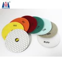 Dry Diamond Polishing Pads For Marble/Granite/Concrete Stone Polishing