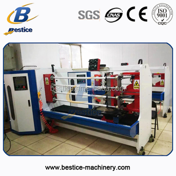 1-3 inch core automatic 4 shafts cutting machine for adhesive tape