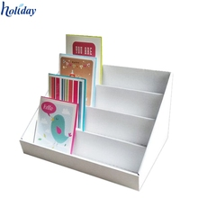 tabletop card spinner display rack/countertop greeting card display stand