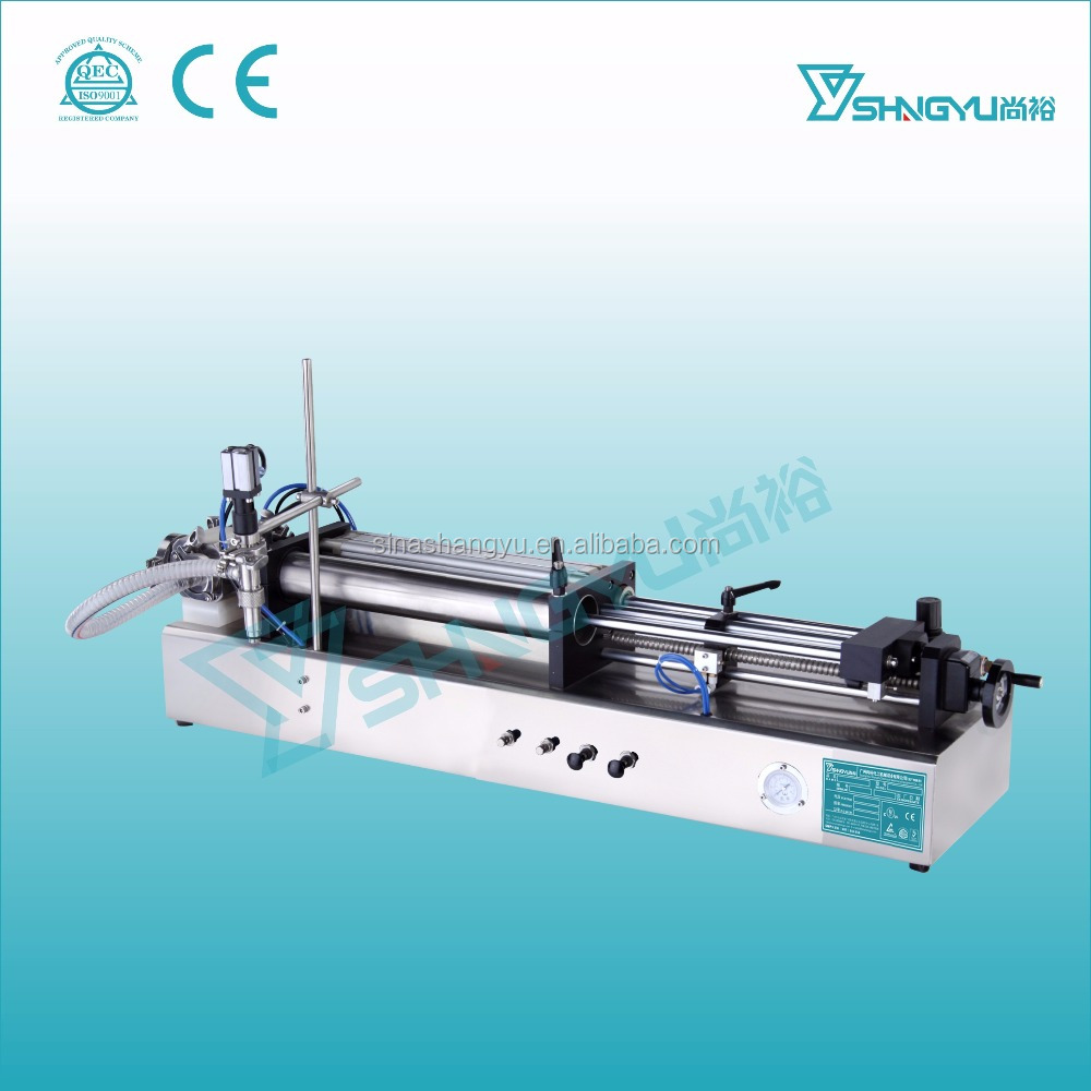 Starting factory semi auto toner filling equipment/lotion filler/liquid detergent filling machine