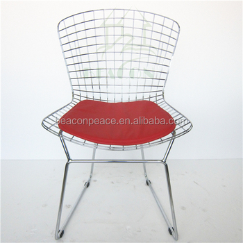 Classic Bertoia Metal Wire Chair