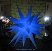 2014 Christmas decoration inflatable led star for outdoors