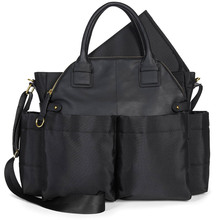 durable diaper bag leather Satchel bag for Mom