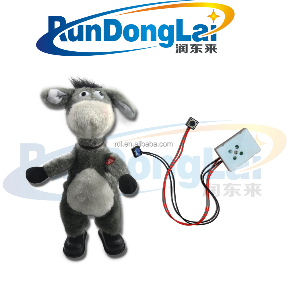 light sensor recordable sound module for greeting cards toy sound module
