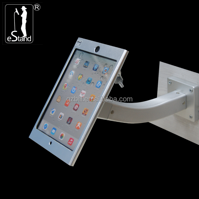 eStand BR24004 aluminum tablet enclosure <strong>advertising</strong> anti theft for ipad mini display