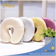 Hot on sale cheap u shape memory foam neck pillow