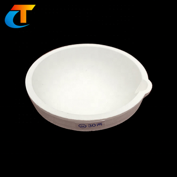 Heat resistance quartz bowl crucible for melting gold or glass