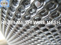 HDPE plastic flat wire mesh