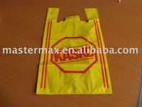 for supermarkets Good Resistant Plastic HDPE Shopping bag