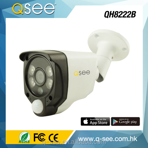 2017 Hot Selling 2.0MP White Light AHD Alarm Camera with PIR, Buzzer cctv camera price list