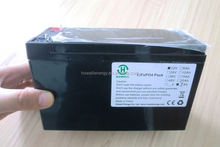 Battery 12v rechargeable long life rechargeable 12v dc battery pack 7Ah lifepo4 with deep cycle life and light in weight