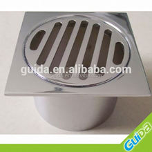 80MM/ 100MM SQUARE TOP LEAK CONTROL FLANGE WASTE FLOOR DRAIN