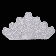 100% Cotton Chemical Lace Collar