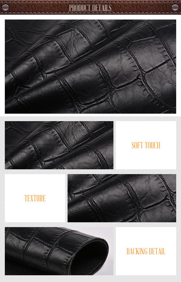 Fashion Design Chair Decorative Abrasion-Resistant PVC Leather