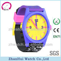 2012 New fashion candy promotional silicone watch