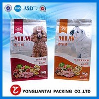 Kraft paper clear window medicine food packaging flat bottom aluminum foil zip lock bags