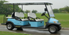 6 seater electric golf cart bus/48V electric bus/4 wheel electric car